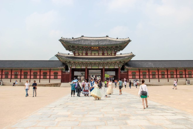 Gyeongbokgung palace entrance